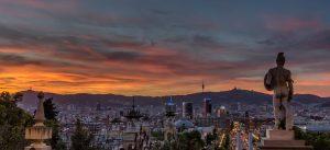 Panoramica desde Parque de Montjuïc