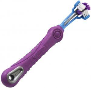 Cepillo de dientes para perro flexible