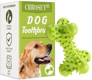 Juguete resistente limpia dientes para perros