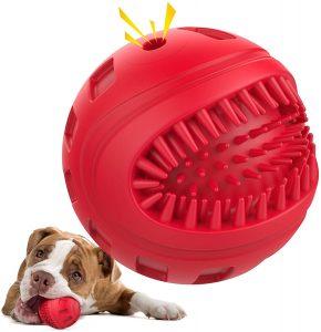 Juguete limpia dientes para perros