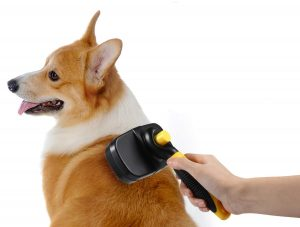 Cepillo para perros de pelo medio o largo