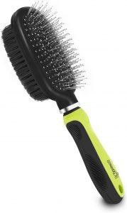 Cepillo para perros de pelo medio y largo Pecute